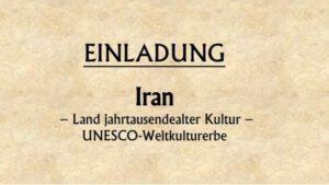 Iran – Land jahrtausendealter Kultur